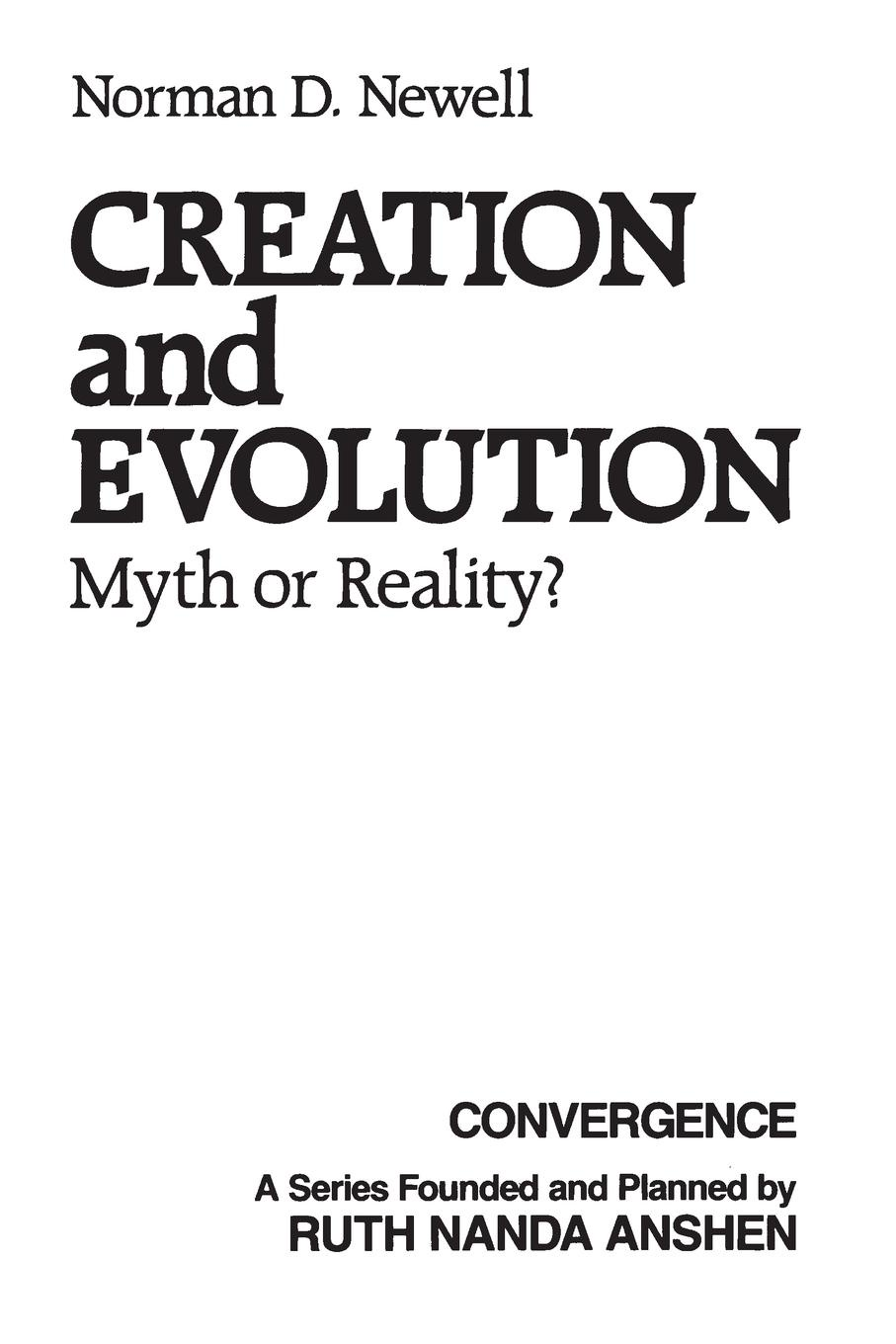 Norman Newell Creation and Evolution. Myth or Reality? functional brain asymmetry myth and reality