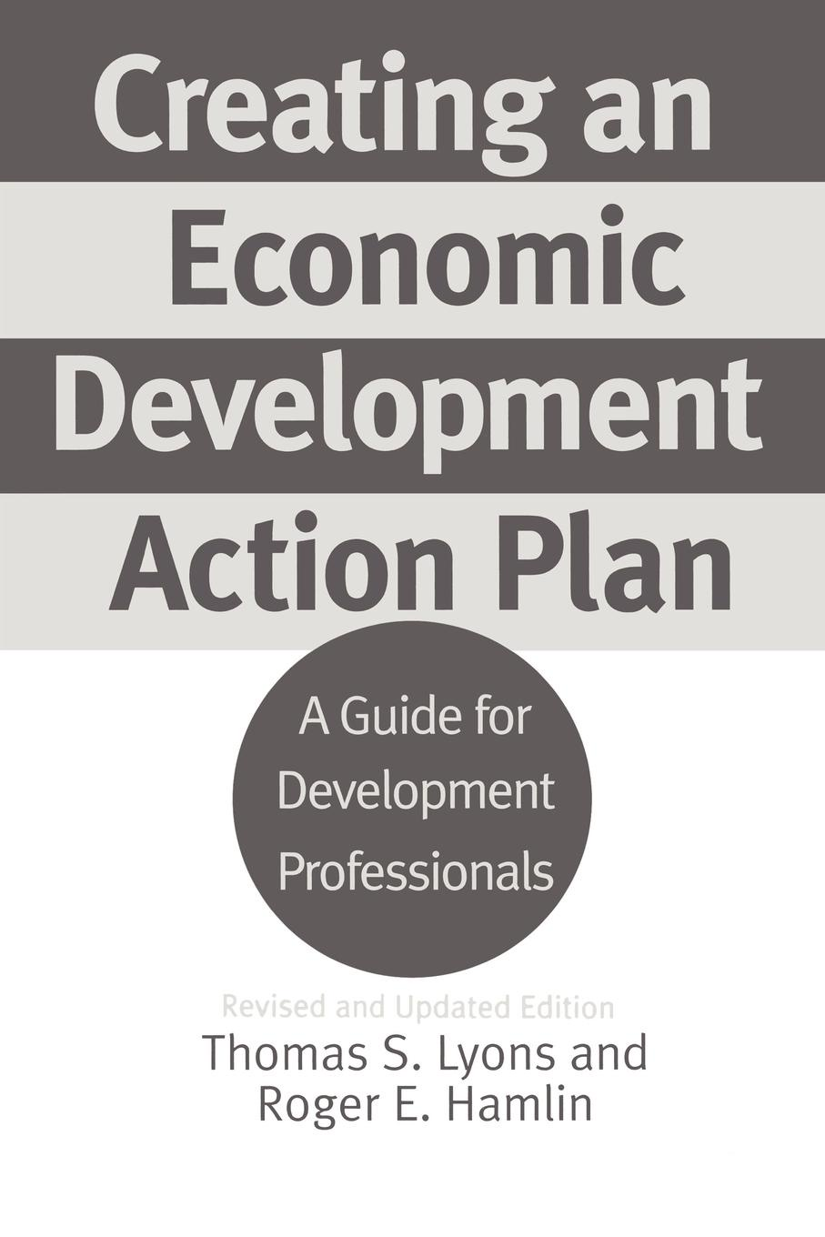 Thomas S. Lyons, Roger E. Hamlin Creating an Economic Development Action Plan. A Guide for Professionals Revised and Updated Edition