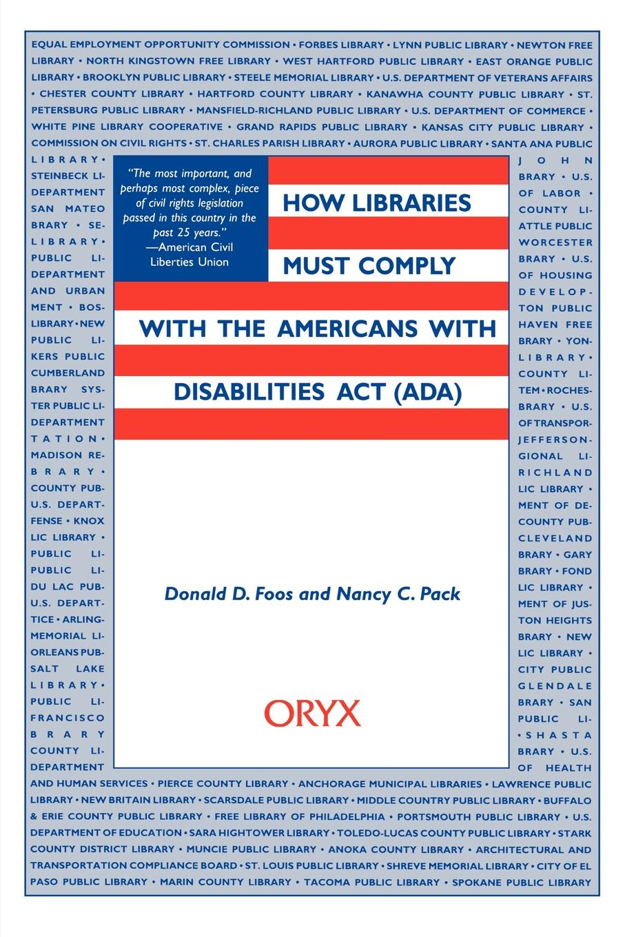 цены How Libraries Must Comply with the Americans with Disabilities ACT (ADA)