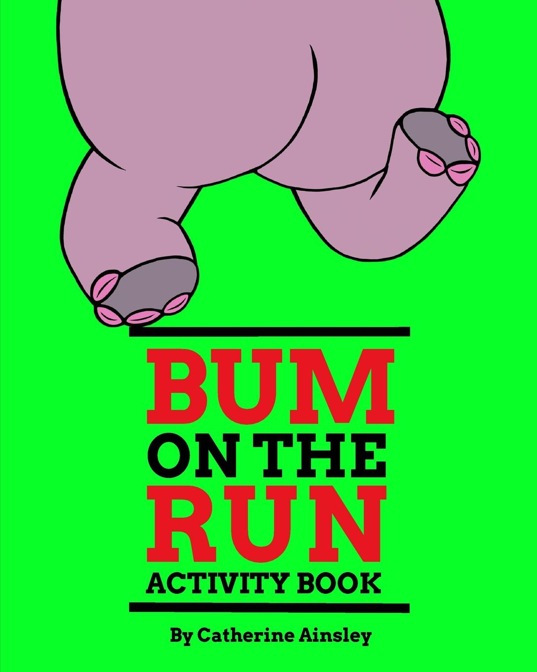 Catherine Ainsley Bum on the Run Activity Book clear detail bum bag