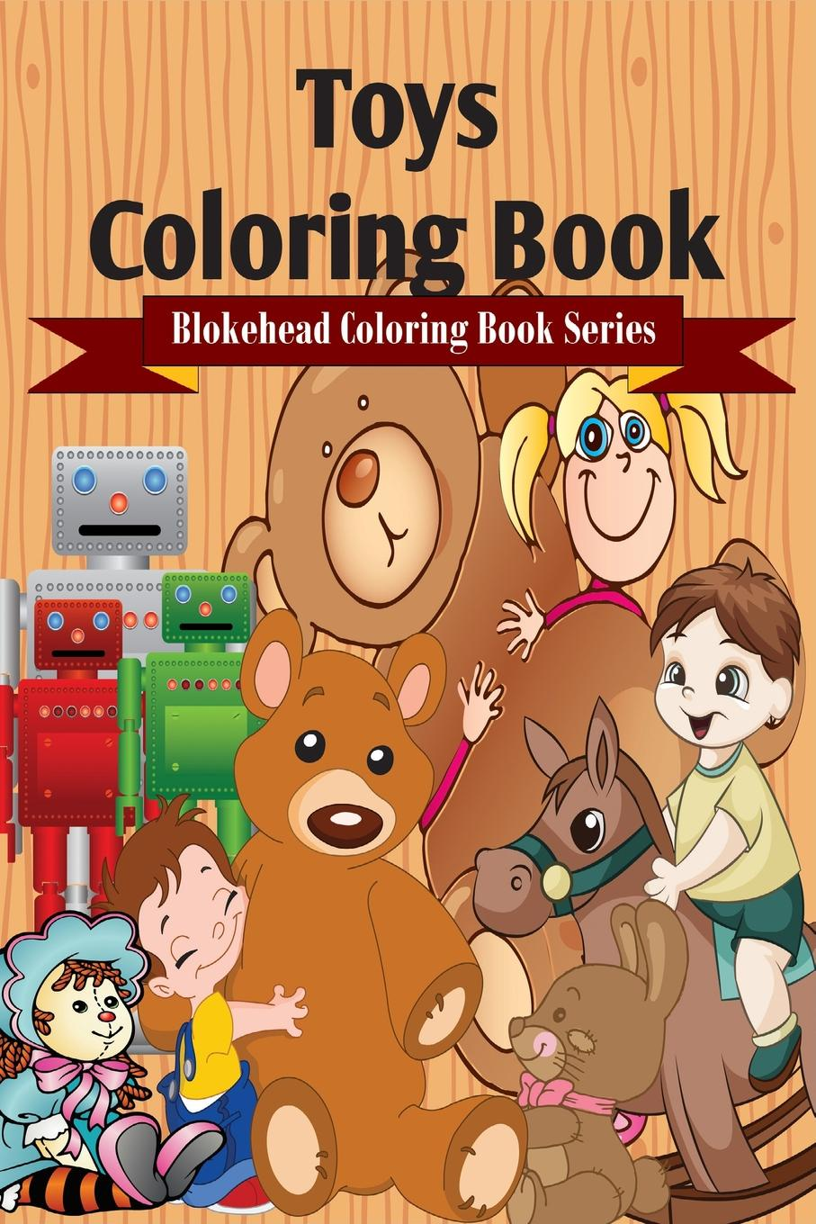 The Blokehead Toys Coloring Book sandra staines crazy maze coloring book