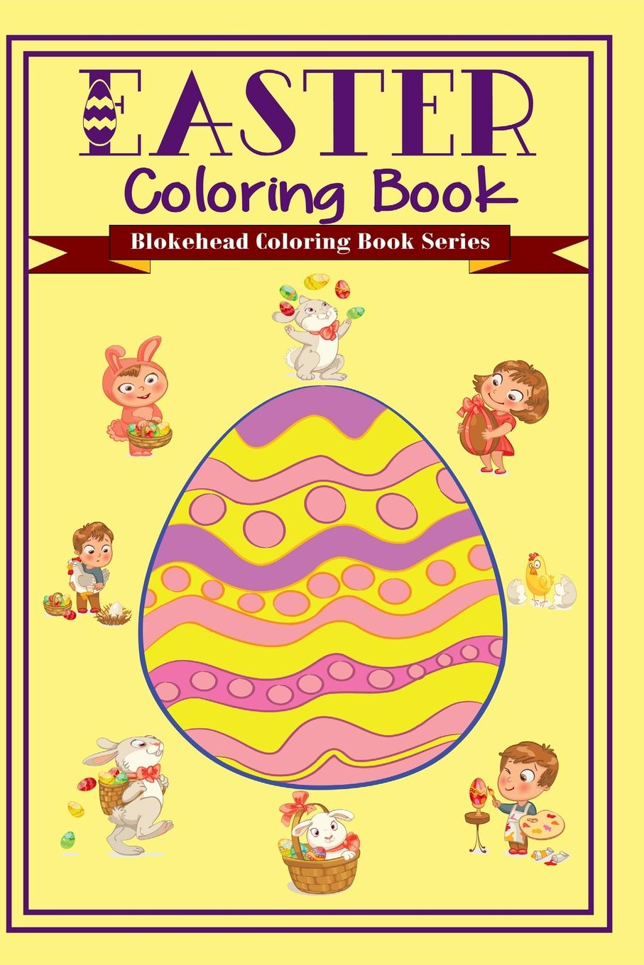 The Blokehead Easter Coloring Book sandra staines wobbly monsters coloring book