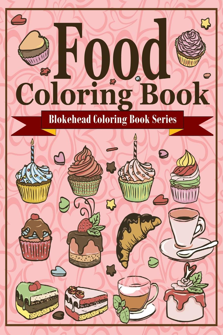 The Blokehead Food Coloring Book sandra staines wobbly monsters coloring book