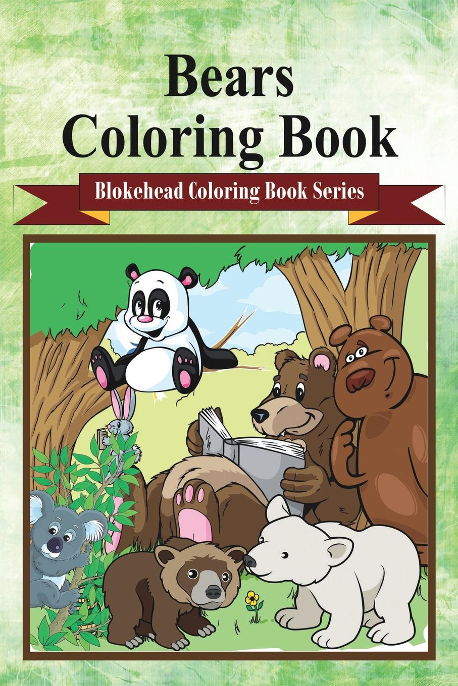 The Blokehead Bears Coloring Book sandra staines crazy maze coloring book