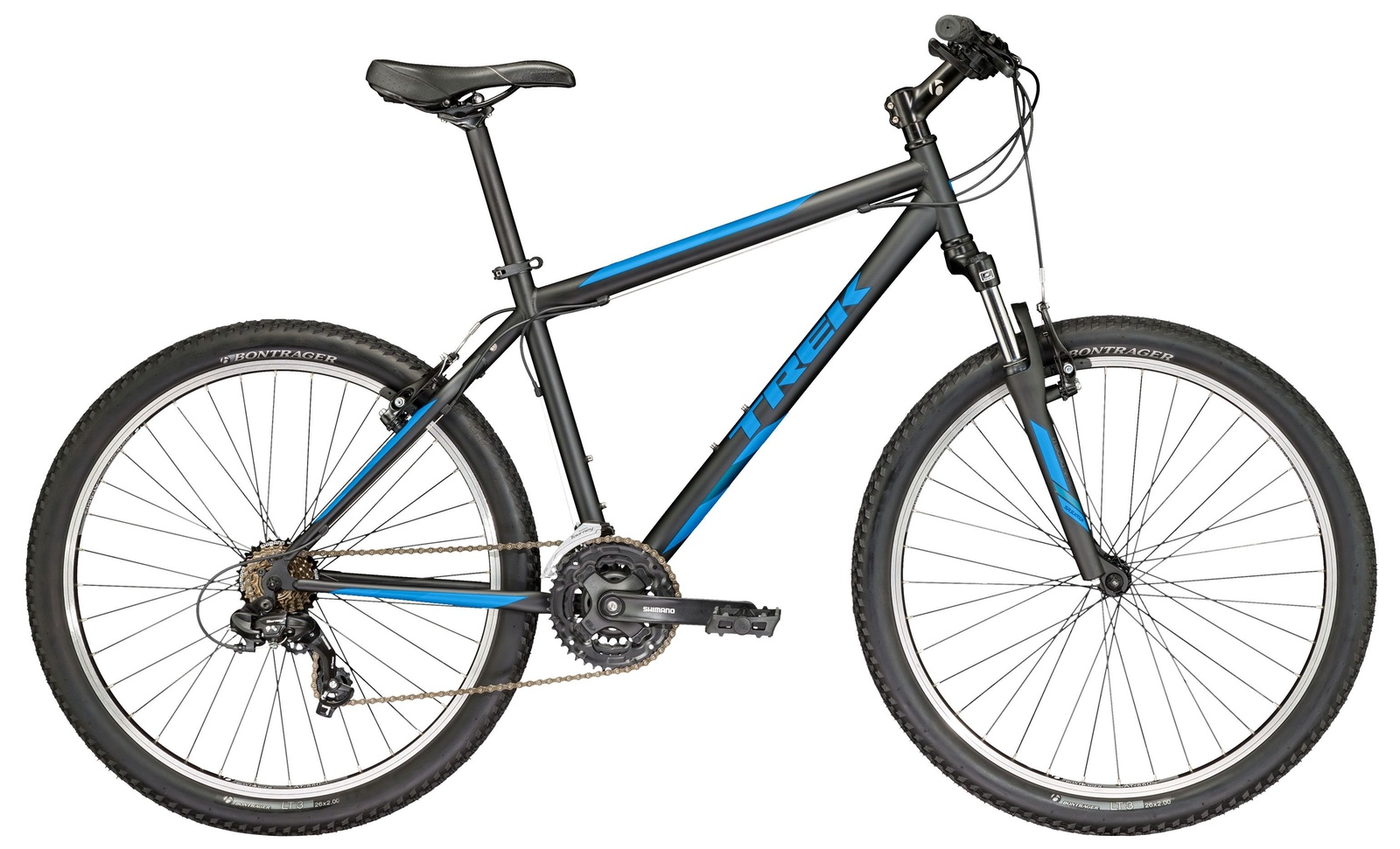 цены на Велосипед TREK 820 2017 19 чёрный  в интернет-магазинах