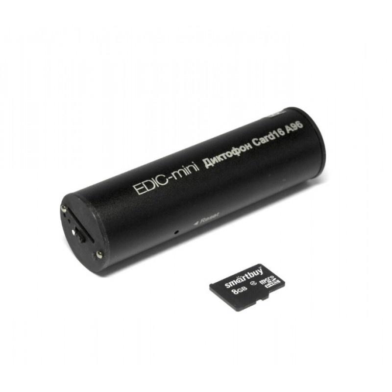 Диктофон EDIC-mini CARD16 A96m