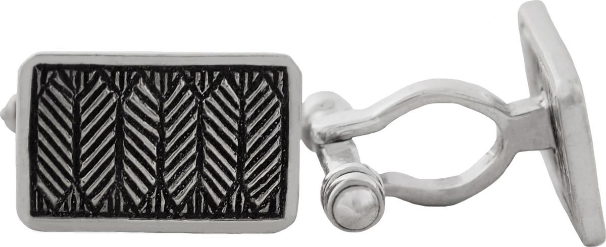 Запонки Диадема из серебра (4082)