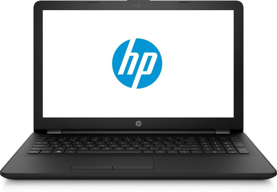 15.6 Ноутбук HP 15-bs182ur 4UM08EA, черный ого pc office mini intel pentium g4560 3 50ghz 4gb 500gb