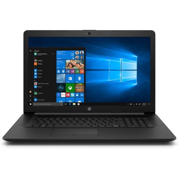 17.3 Ноутбук HP 17-ca0040ur 4KF57EA, черный hp 255 g6 [1wy47ea] black 15 6 hd e2 9000e 4gb 500gb dos