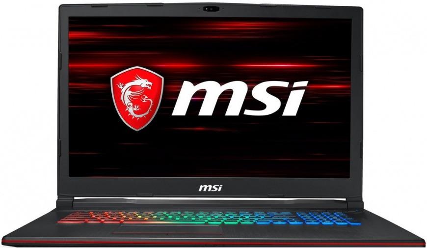 17.3 Игровой ноутбук MSI GL73 8SC-013XRU 9S7-17C812-013, черный игровой ноутбук msi gl63 8sc 9s7 16p812 017 черный