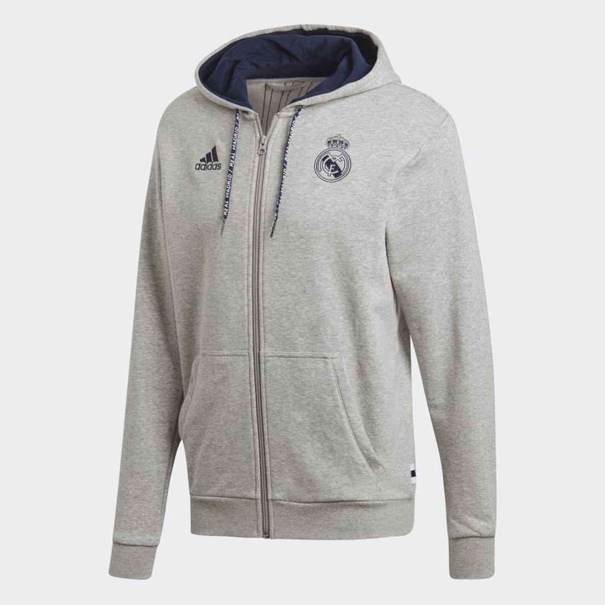 Худи adidas Real Fz Hd худи мужское adidas sid fz цвет синий dt9915 размер s 44 46