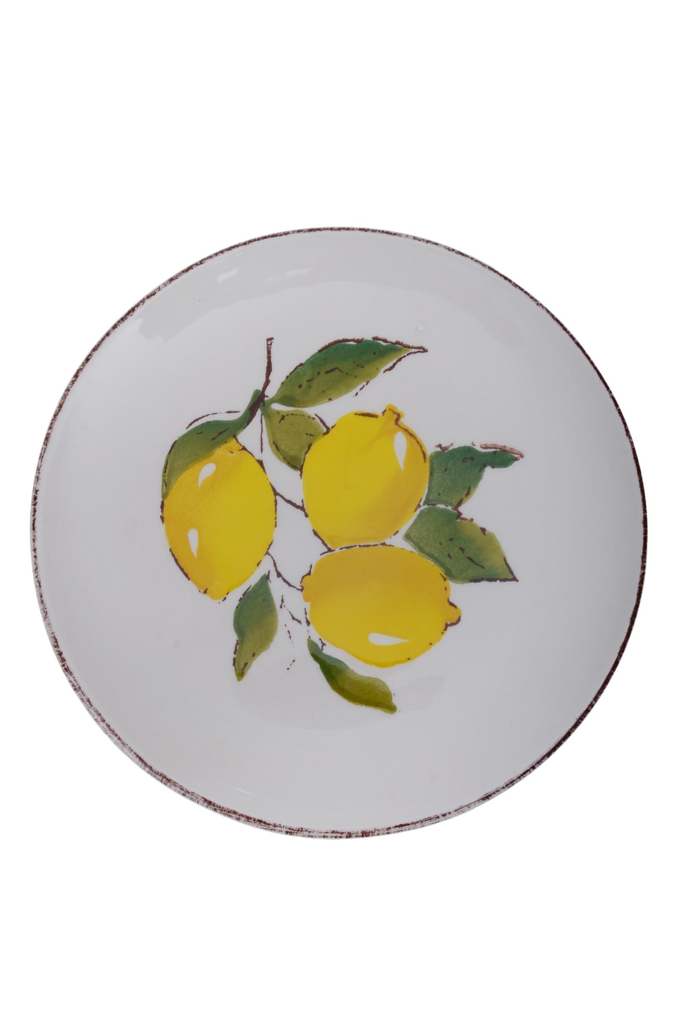 Набор из 6 десертных тарелок 21см