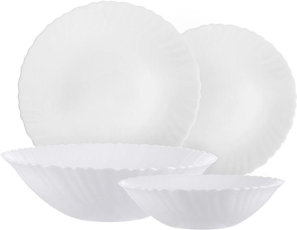 Набор столовой посуды Millimi Бьянко, 818383, 19 предметов