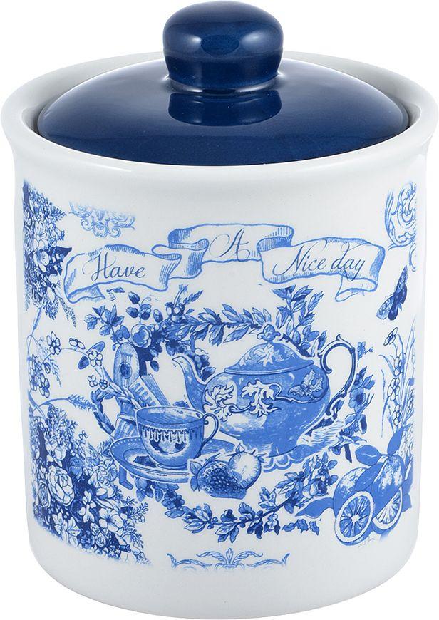 Банка для сыпучих продуктов Millimi Гравюра, 824034, 520 мл банка для сыпучих продуктов феникс презент кремлевский чай 750 мл