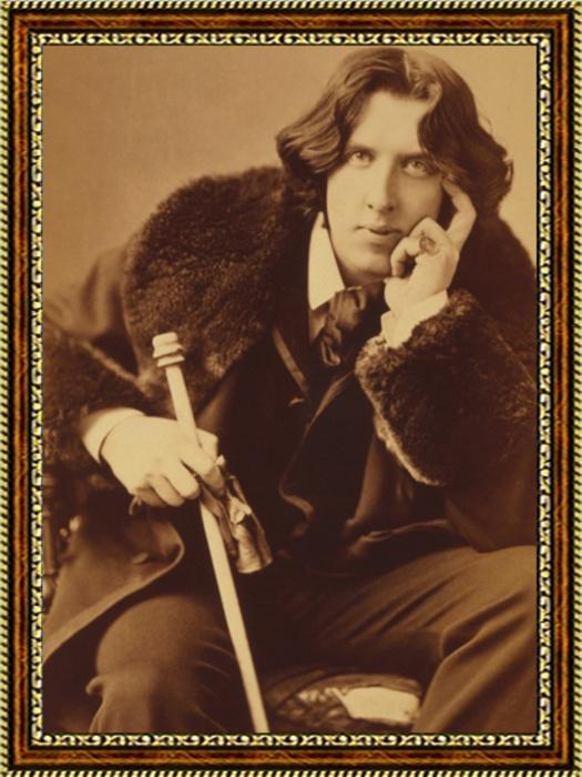 Портрет писателя Оскара Уайлда