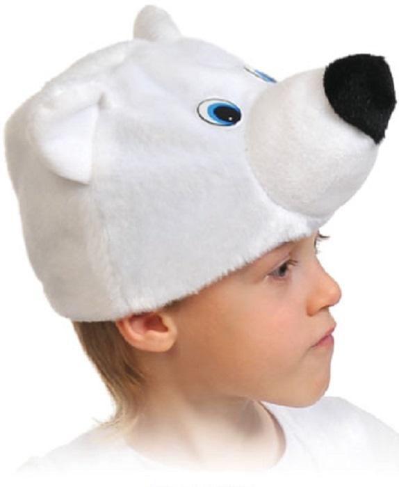 Карнавалофф Маска карнавальная Мишка полярный