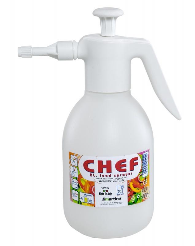 Распылитель ручной помповый Di Martino CHEF 2л распылитель курс 76366 ручной помповый 1 5 литра