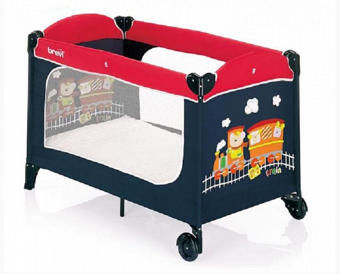 цена на Манеж-кровать Brevi DOLCE NANNA PLUS (349 RED)