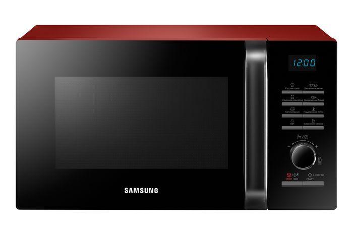 Микроволновая печь Samsung MS-23H3115QR, красный