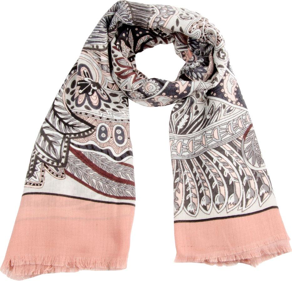 Платок VIP Collection платок женский elitplatok цвет розовый фиолетовый pk 110 12 размер 100 х 190 см