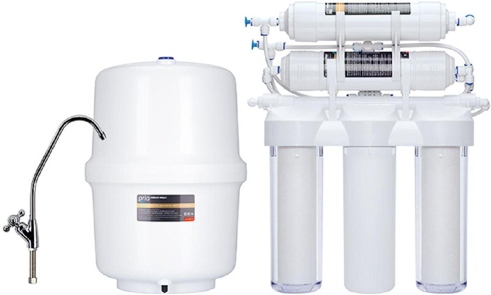Система обратного осмоса Prio Новая Вода Praktic Osmos с минерализацией, OU510