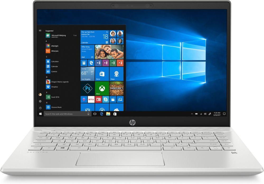 Фото - 14 Ноутбук HP 14-ce2007ur 6PR66EA, серебристый 14 дюймовый тонкий и легкий ноутбук hp pavilion 14 bf108tx только i5 8250u 4g 256gssd 940mx 2g fhd ips silver