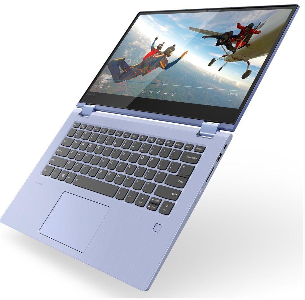 14 Ноутбук Lenovo Yoga 530-14IKB 81EK0196RU, синий lenovo yoga 530 14ikb 81ek0093ru черный