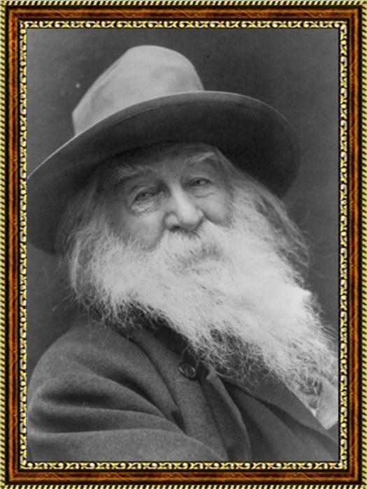 Портрет поэта Уолта Уитмена