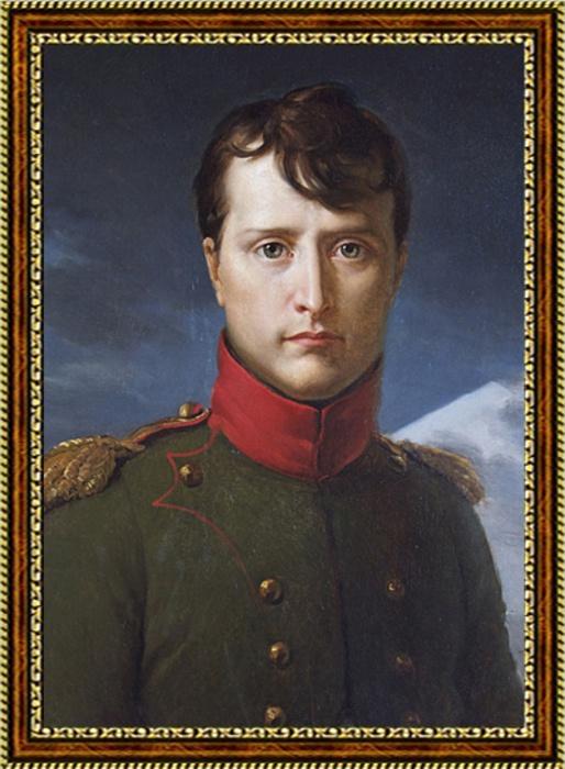 Портрет императора Франции Бонапарта Наполеона - 2