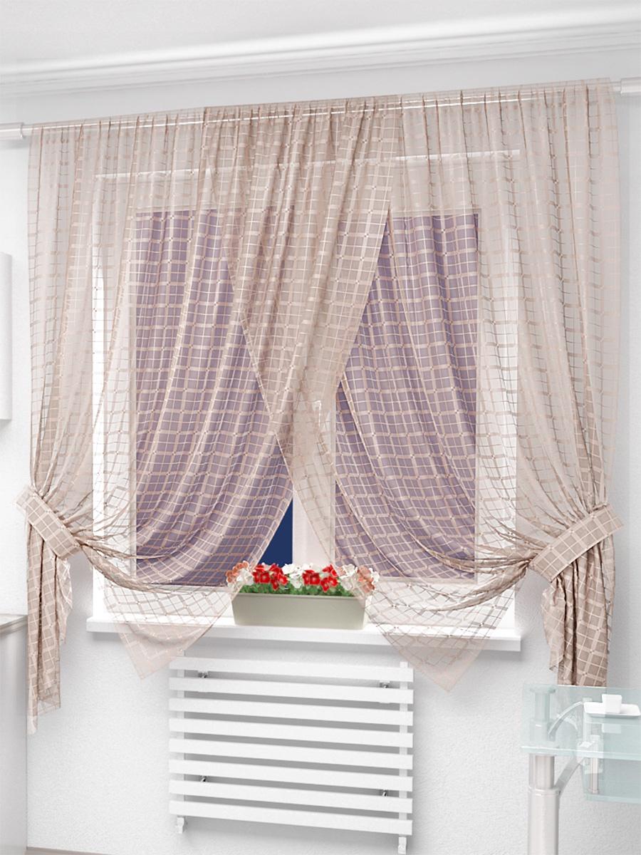 короткие шторы в гостиную до подоконника фото ней