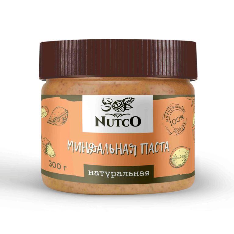 Миндальная паста NUTCO Натуральная 300 гр.