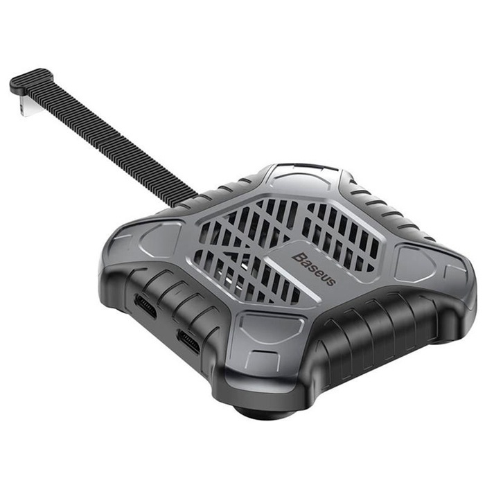 Кабель-переходник Lightning - Dual Lightning Baseus X-Men Audio Radiator - Tarnish (ACSR-XJ0A) адаптер baseus x men audio radiator red acsr xj09