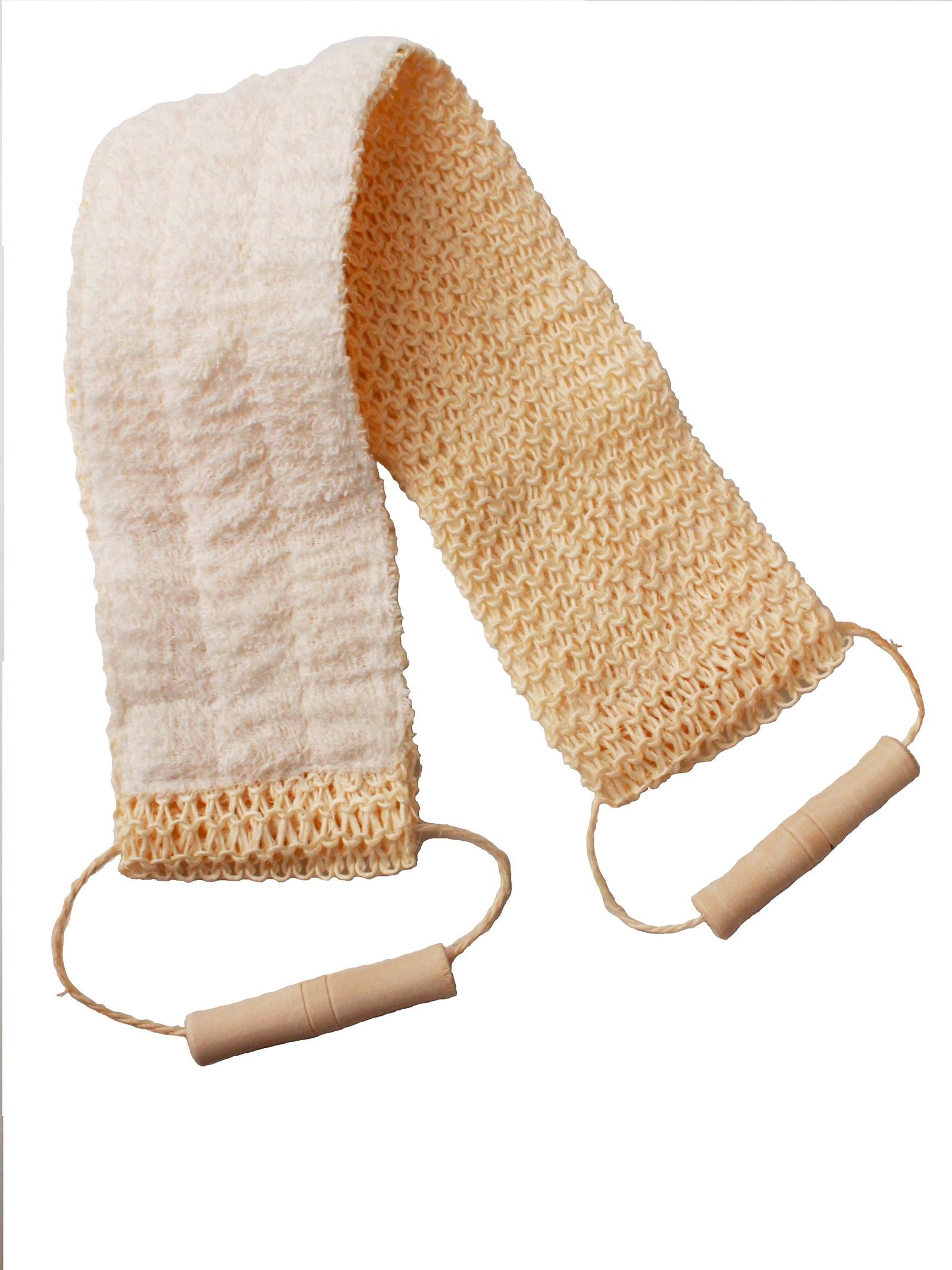 Мочалка-лента массажная для тела мочалка для тела жесткая зеленая cure nylon towel regular green
