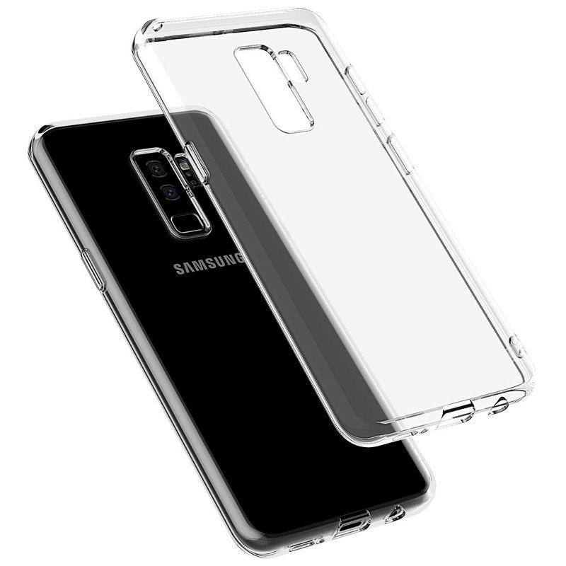Силиконовый чехол для Samsung Galaxy S9 Прозрачный