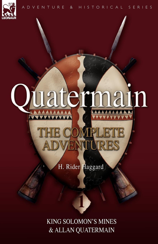 цены на H. Rider Haggard Quatermain. The Complete Adventures 1 King Solomon S Mines & Allan Quatermain  в интернет-магазинах