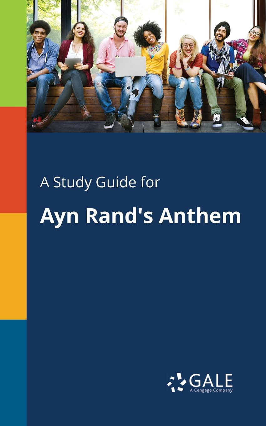 лучшая цена Cengage Learning Gale A Study Guide for Ayn Rand's Anthem