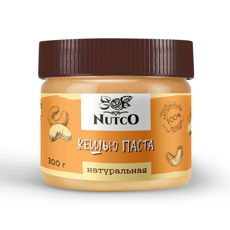 Кешью паста NUTCO Натуральная 300 гр.