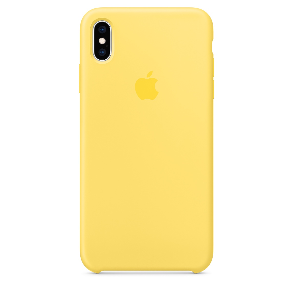 Чехол Apple Silicone Case для iPhone XS Max, Canary Yellow чехол для apple iphone xs max silicone case nectarine