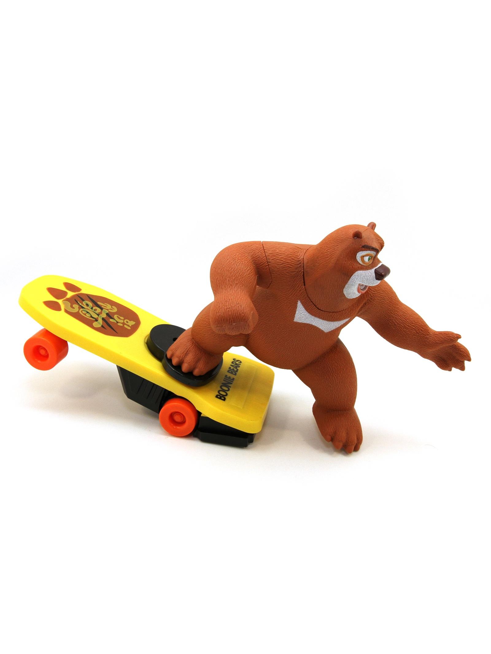 Balbi Веселый Медведь Скейтер Малый Бурый