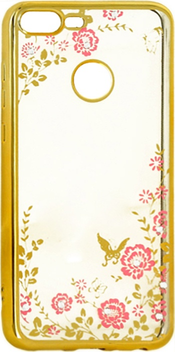 Чехол-накладка для Huawei Honor 9 Lite со стразами GOSSO CASES
