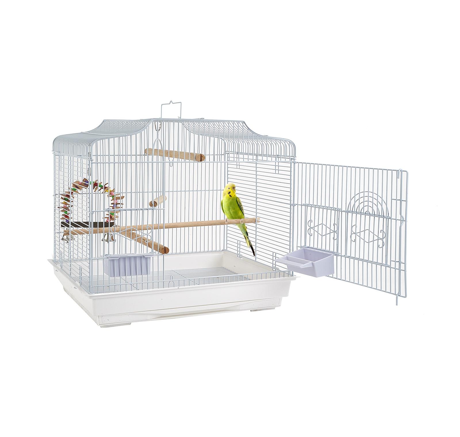 """клетка для мелких птиц sky rainforest """"puerto rica"""", 66х36х60см, белый (великобритания)"""