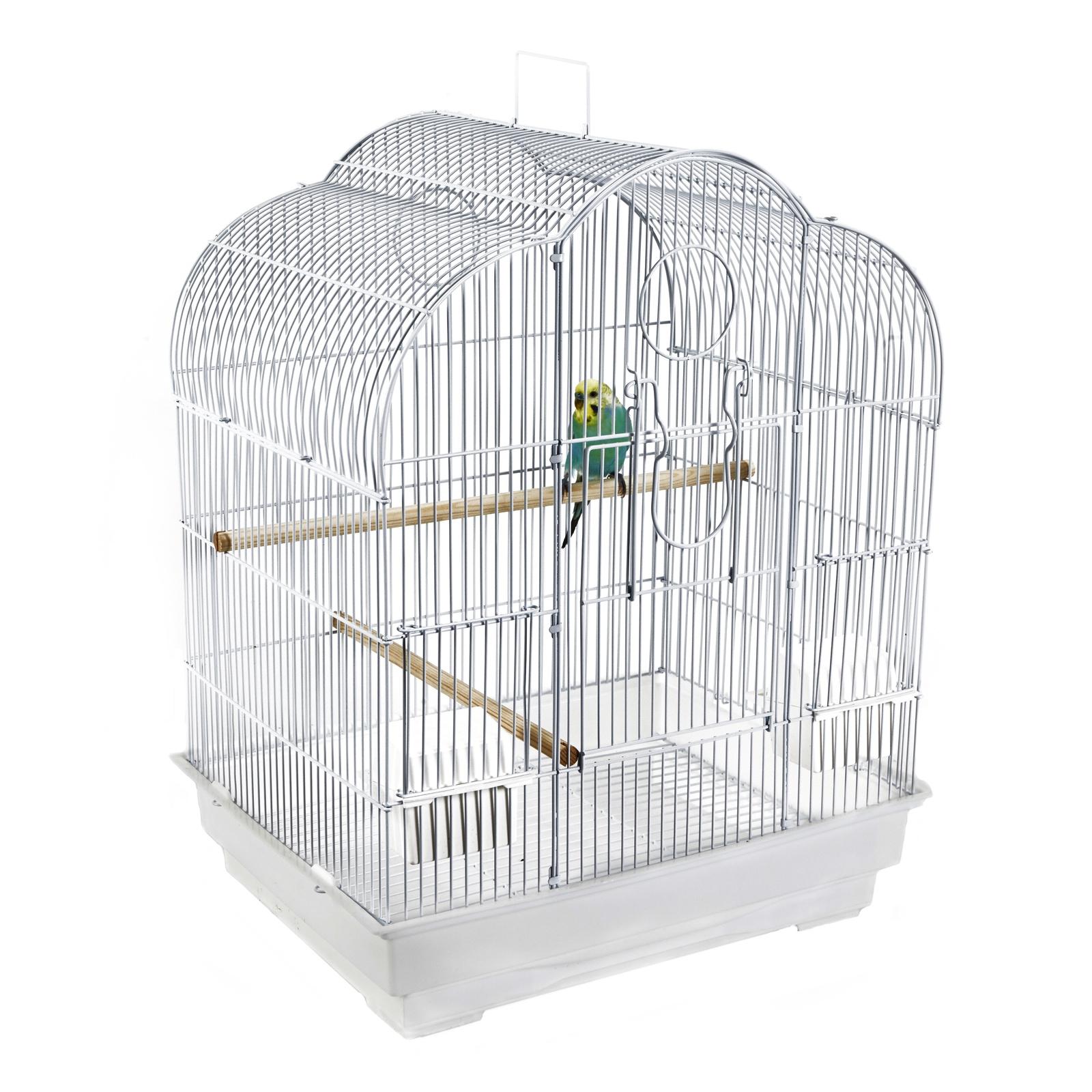 "Клетка для мелких птиц SKY Liberta ""Kansas"", 46х36х58 см, белый (Великобритания)"