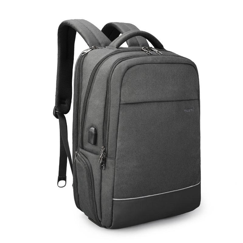 цена Tigernu, мужской рюкзак с USB-портом для ноутбука онлайн в 2017 году