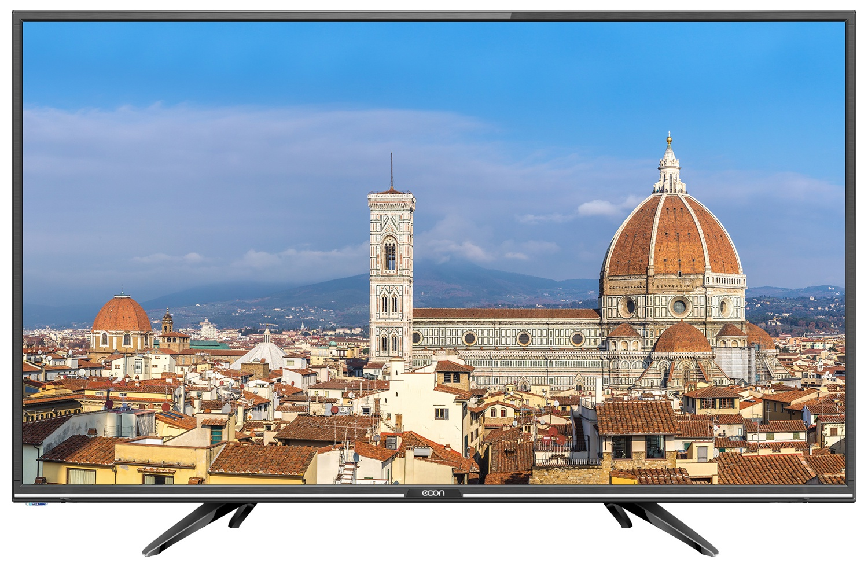 """Телевизор ECON LED 22"""" (56см) с цифровым тюнером DVB-T2, спутниковым тюнером DVB-S/S2 и USB медиаплеером 22"""", черный"""