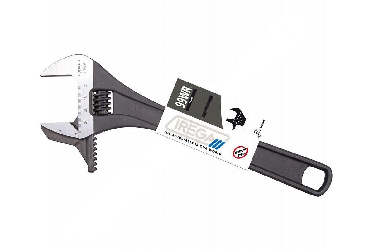 Разводной ключ IREGA 99WR-LT-F CN-MM-P/CE-6, раскрытие 27 мм ключ разводной fit хард 6 150 мм