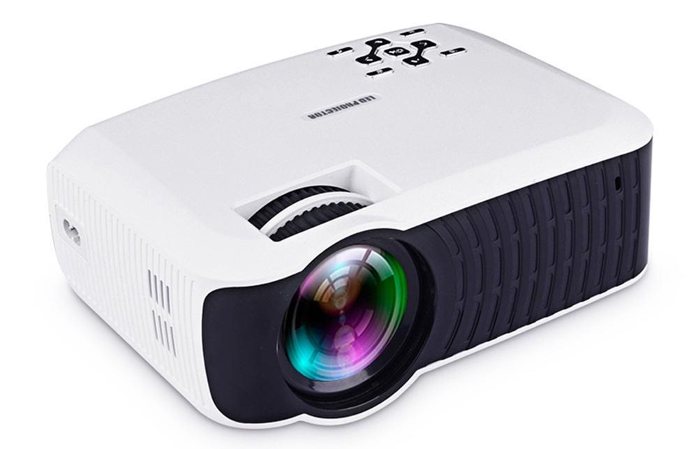 HD LED проектор Touyinger T4 mini с функцией подключения смартфона