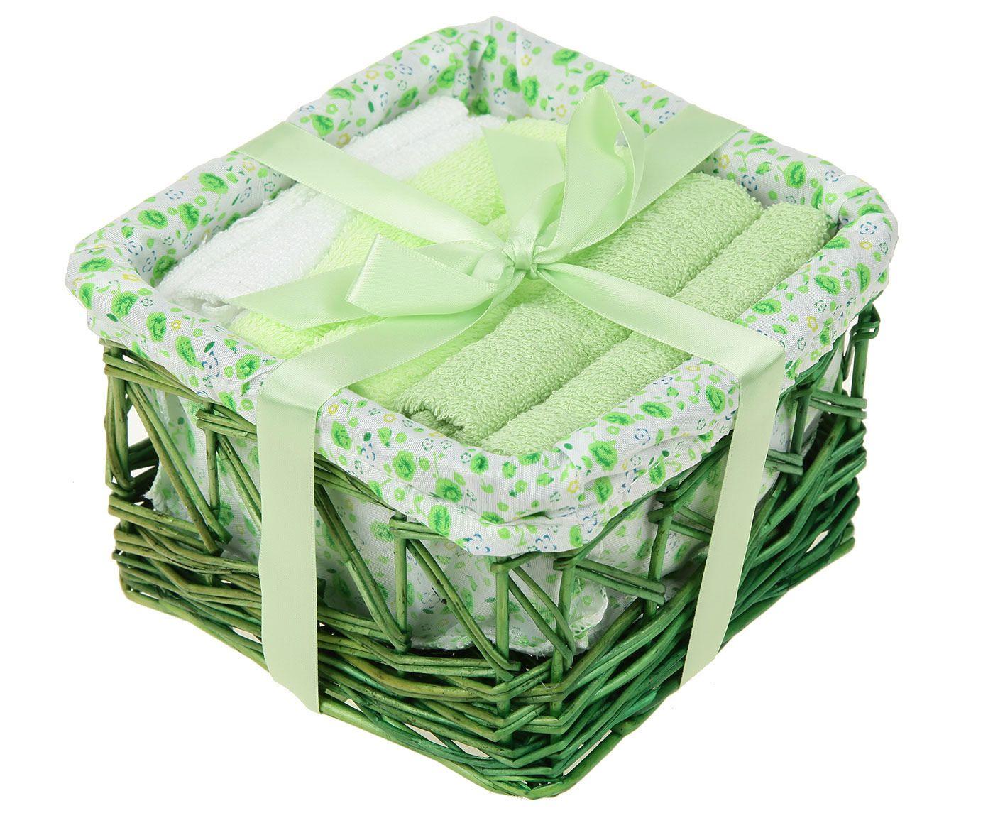 цена на Набор салфеток - 6 шт. в подарочной корзине