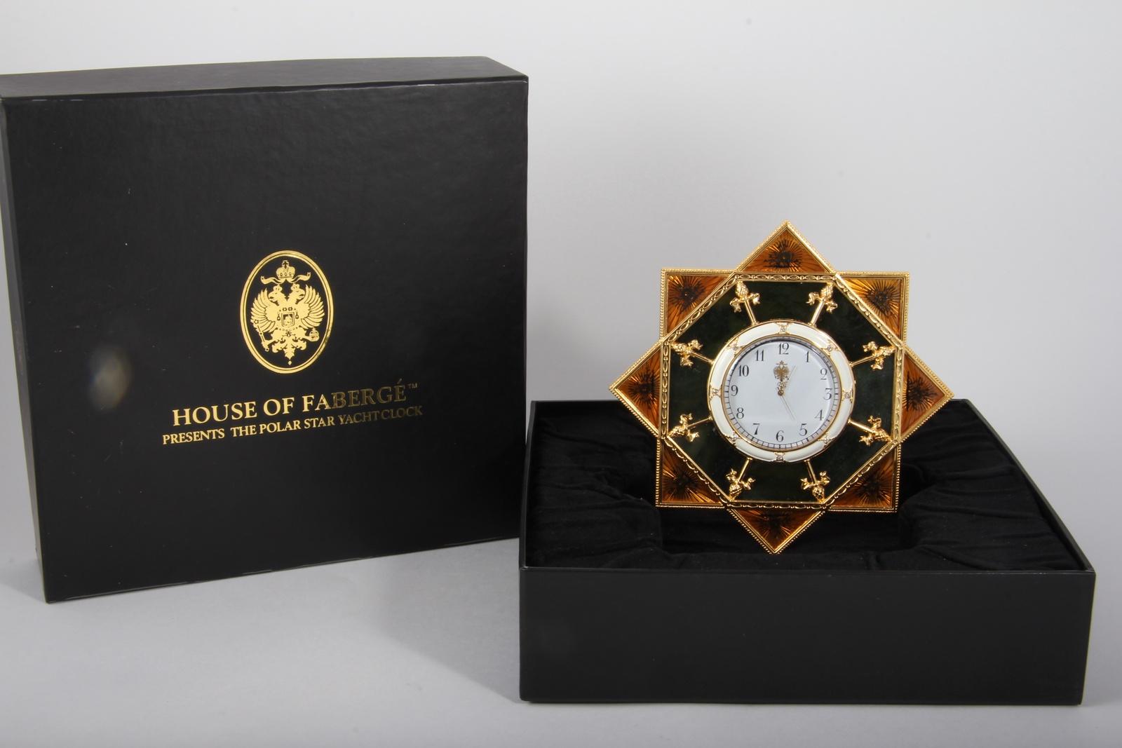 """Настольные часы Franklin Mint """"Полярная звезда"""""""
