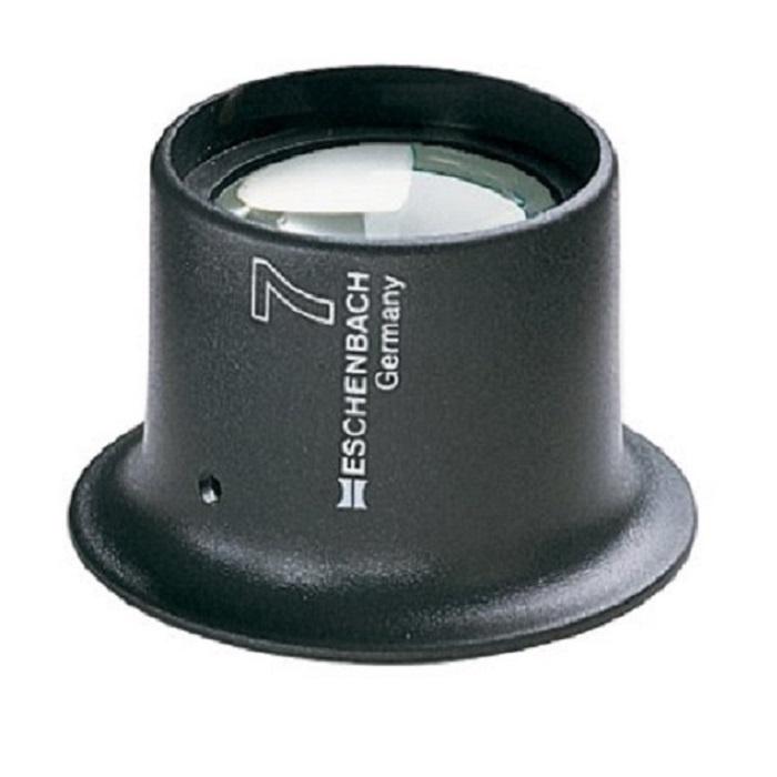 Лупа техническая часовая плосковыпуклая Eschenbach Watchmaker's magnififers, диаметр 25 мм, 5.0х, 20.0 дптр