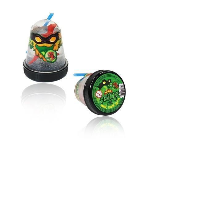 Слайм Slime Ninja, Затерянный мир с фигуркой Динозавра развивающие игрушки фабрика игрушек slime ninja затерянный мир с фигуркой